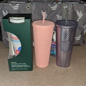 Starbucks Studded Tumblers and Hot Cups